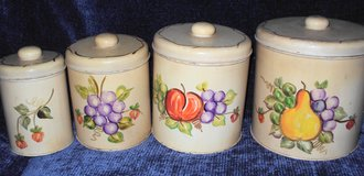 Hand-Painted Canisters in Alamogordo, New Mexico