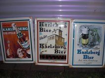 3 Karlsberg Beer signs in Ramstein, Germany