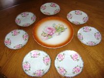 pretty vintage plates with roses in Westmont, Illinois