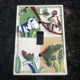 Super Cute Animal Print Light Switch Cover in Plainfield, Illinois