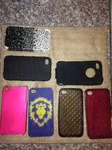 Lot of 9 iPhone 4 and 5 Cases in Camp Lejeune, North Carolina