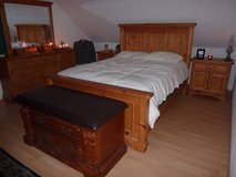 Knotty Pine Bedroom Set, Solid Real Wood in Oceanside, California