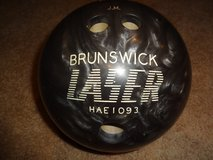Brunswick Laser bowling ball - 16 lb. in Lockport, Illinois