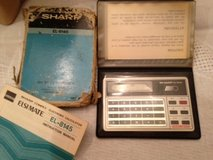 Sharp Pocket Calculators & Pocket Notepad in Batavia, Illinois